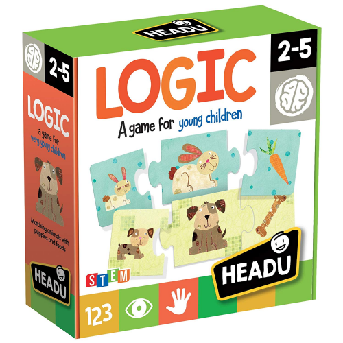 Headu Kids Children Logic Puppies Food Game Educational Puzzle Gift Set